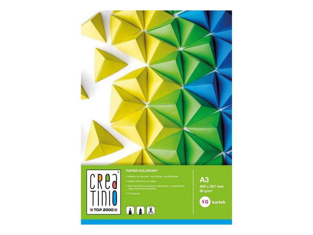 11247 sesit barevnych papiru a3
