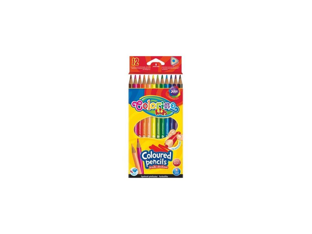 1129 1 colorino pastelky trio 12 barev