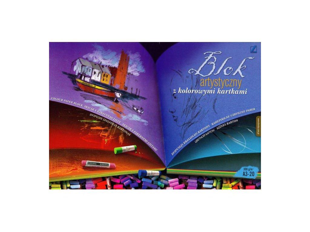 11316 skicak a3 20l barevny