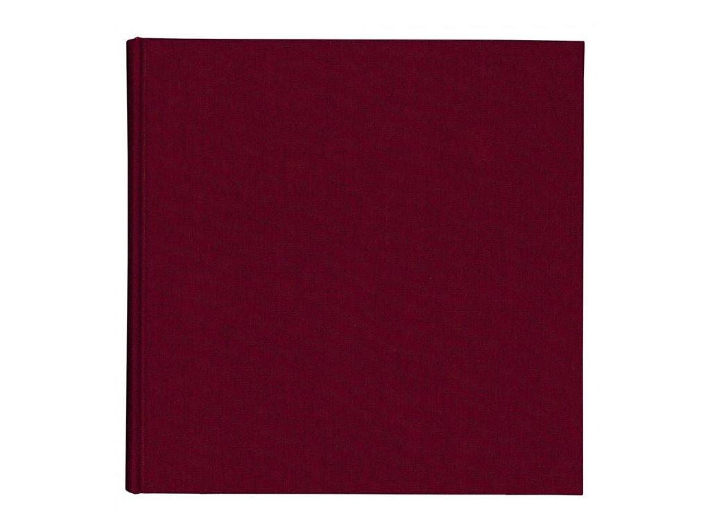 11400 skicak v deskach 21 x 21 cm vinovy