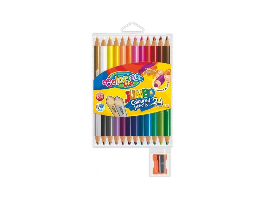 1150 1 colorino pastelky jumbo duo 24 barev