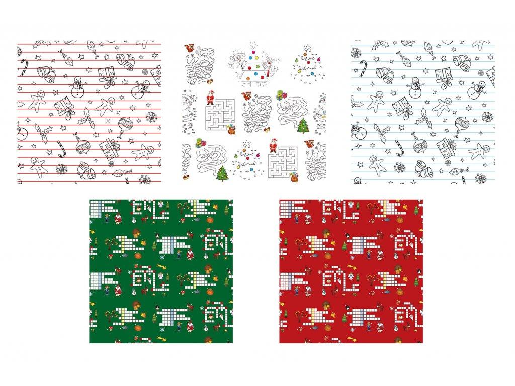 Vánoční dárkový papír Christmas Creative