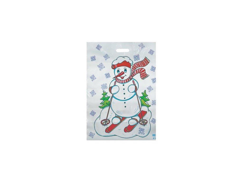 Vánoční taška XXL - Sněhulák