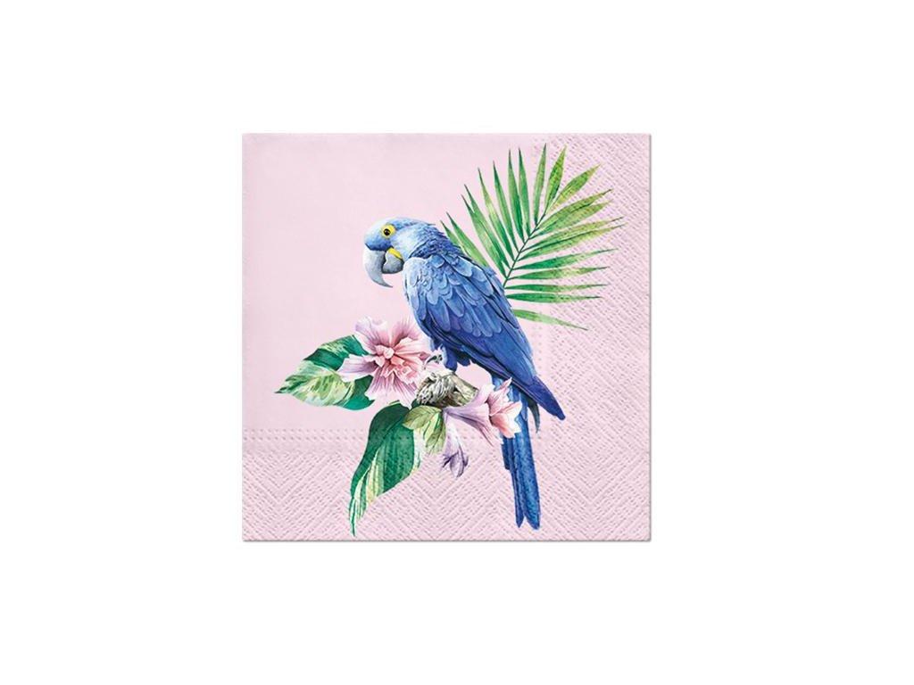 Papírové ubrousky Exotic Parrot 20 ks