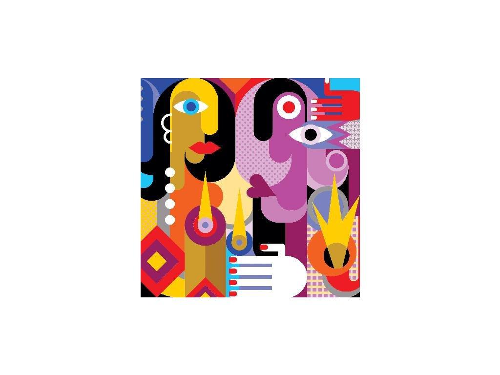 Papírové ubrousky A'la Picasso 20 ks