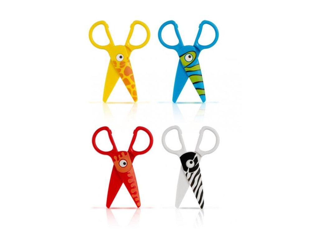 Dětské nůžky Colorino Baby Line 12,5 cm (Motiv Chobotnice)