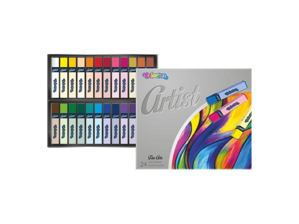 5935 1 colorino pastele artist suche 24 barev
