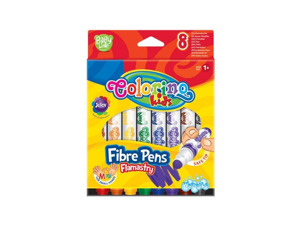 6181 1 colorino fixy mini round tip 8 barev
