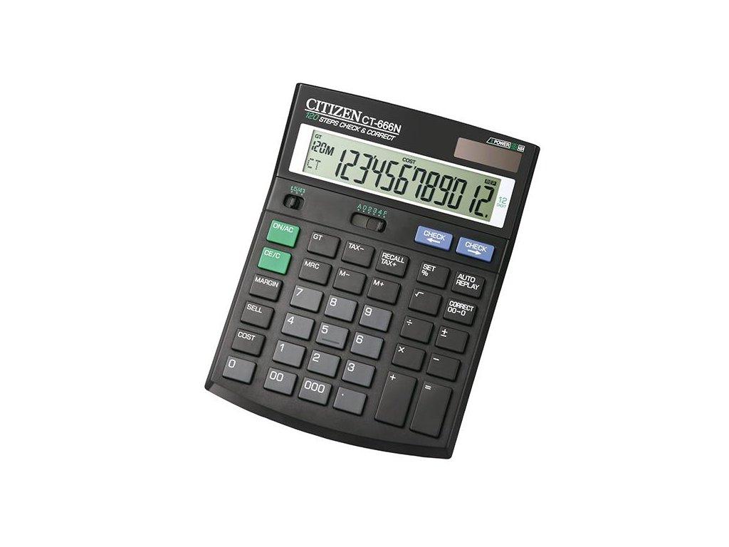 628 1 stolni kalkulacka citizen ct 666n