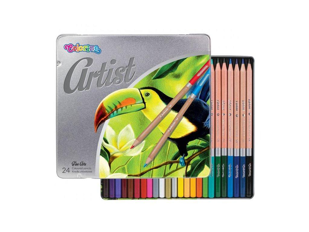 6331 1 colorino pastelky artist barevne 24 barev