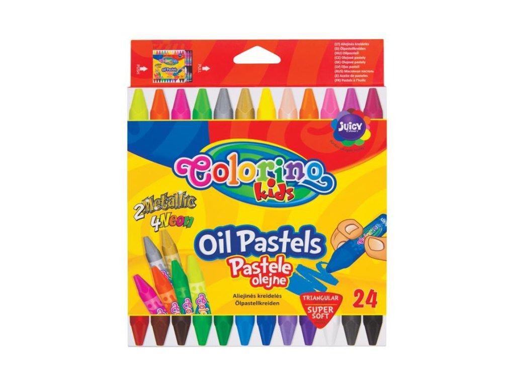 6340 1 colorino olejove pastele trio 24 barev