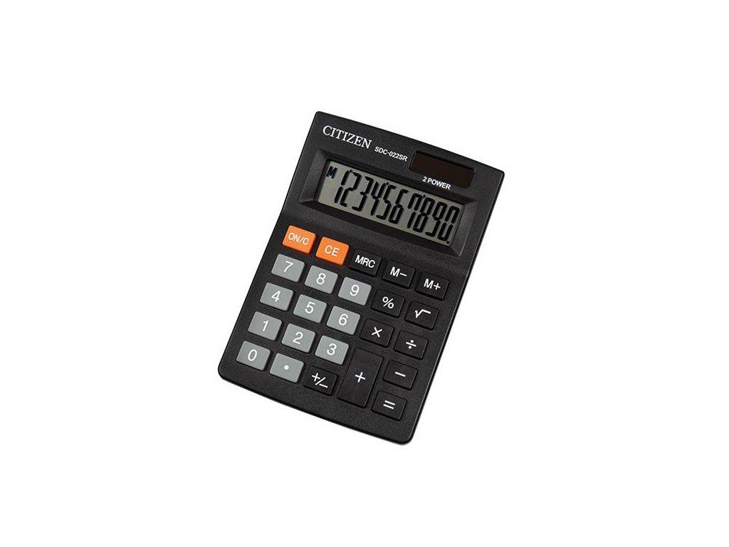 655 1 kalkulacka citizen sdc 022sr