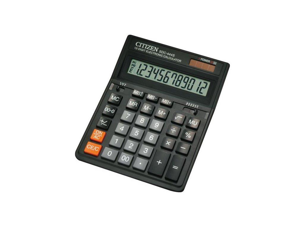 658 1 stolni kalkulacka citizen sdc 444s