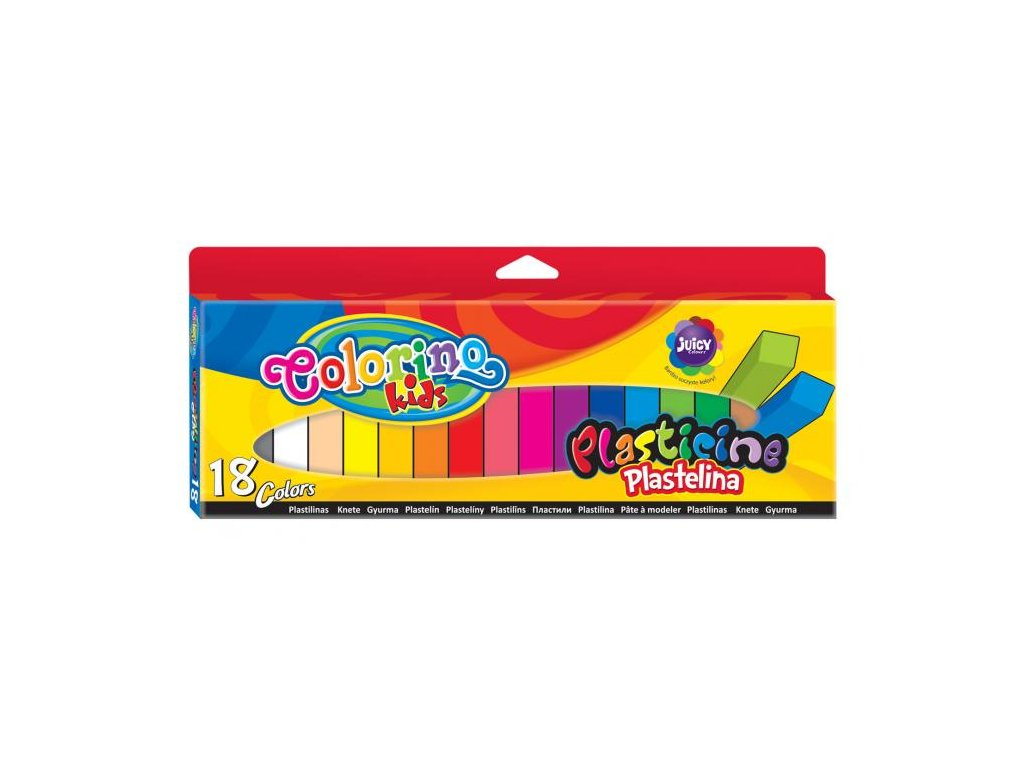 6613 1 colorino plastelina 18 barev