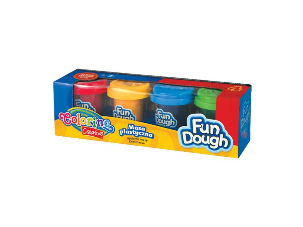 6625 1 colorino modelovaci hmota fun dough 4 barvy