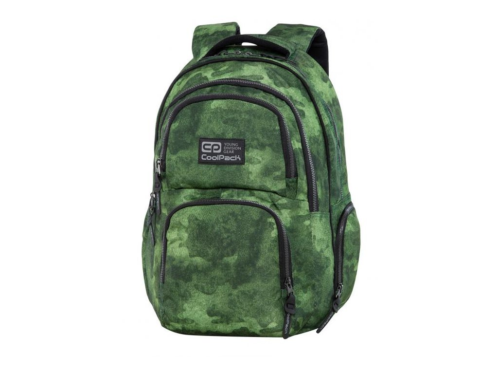 6703 studentsky batoh coolpack aero foggy green