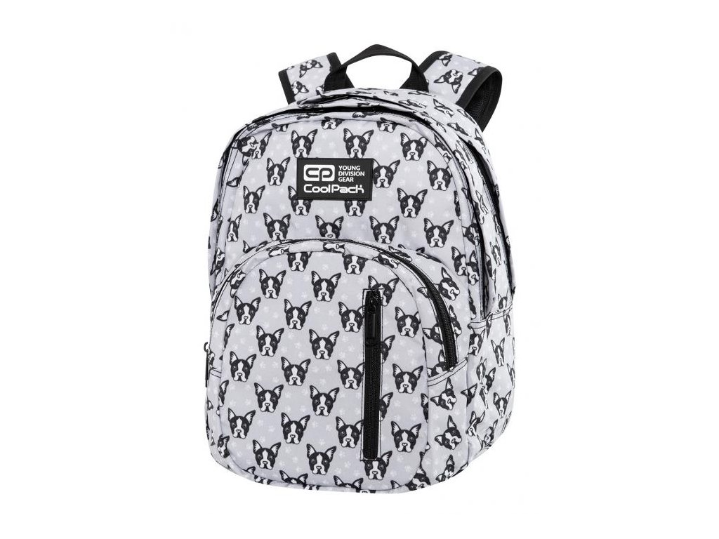 6715 studentsky batoh coolpack discovery french bulldogs