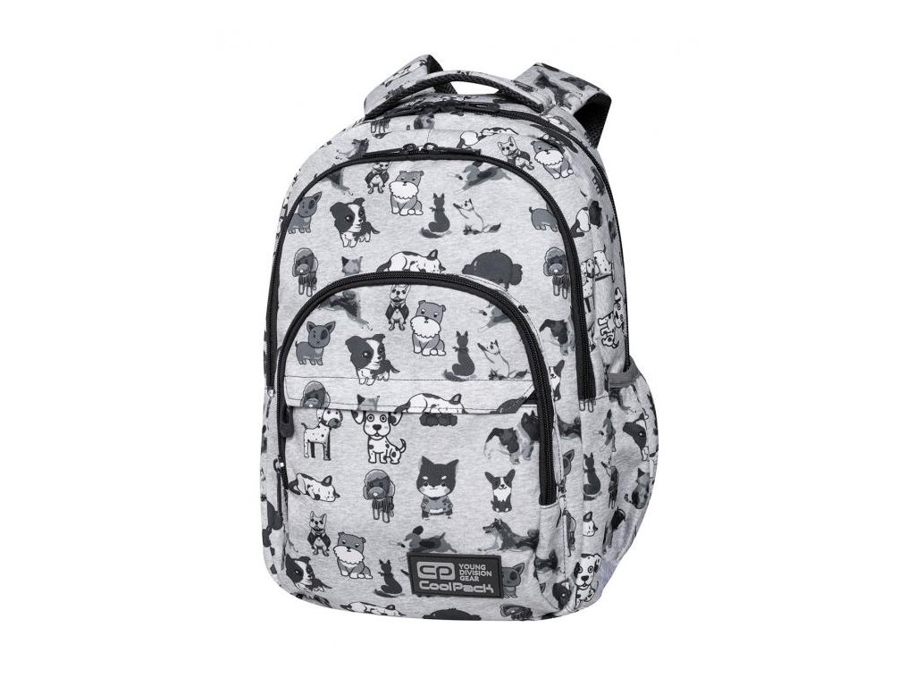 6721 skolni batoh coolpack basic plus doggies