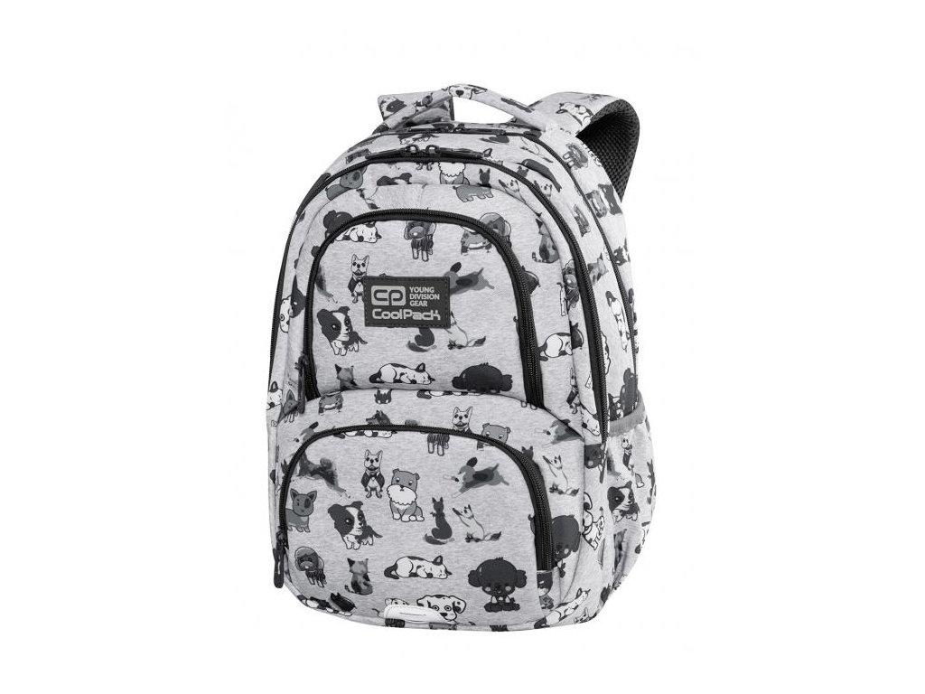6736 skolni batoh coolpack spiner termic doggies