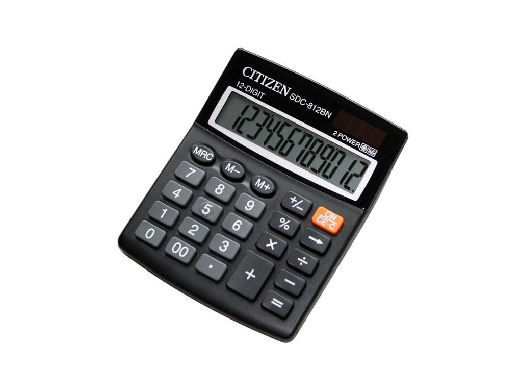 685 1 stolni kalkulacka citizen sdc 812bn