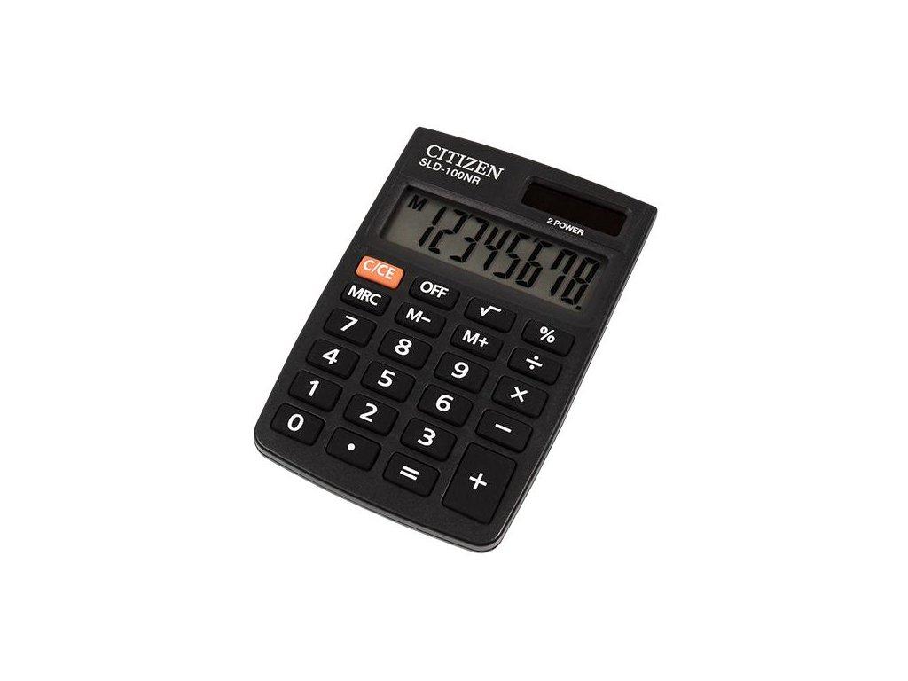 706 1 kapesni kalkulacka citizen sld 100nr
