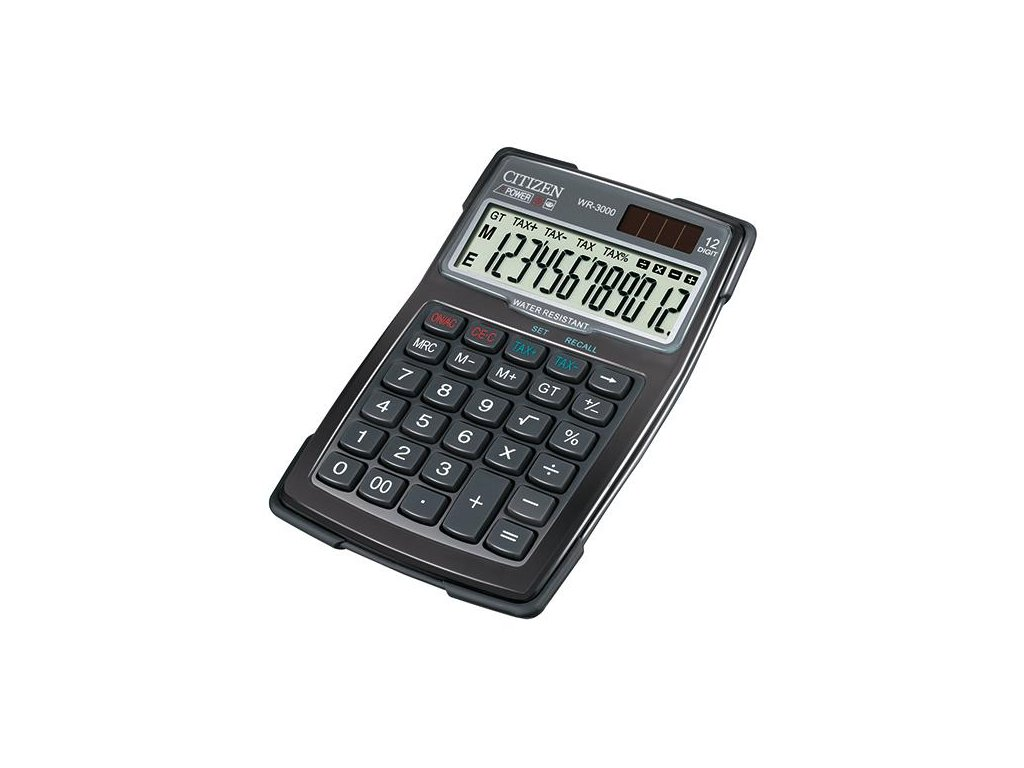 727 1 stolni kalkulacka citizen wr 3000