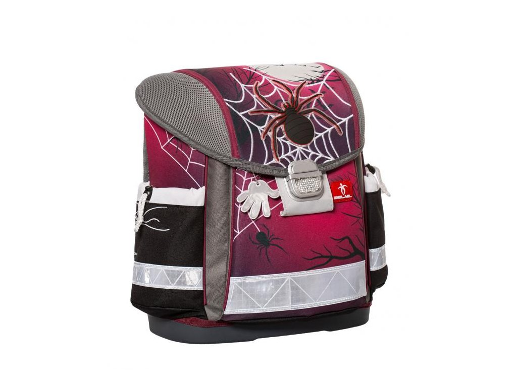 9963 6 skolni batoh spider sacek na prezuvky