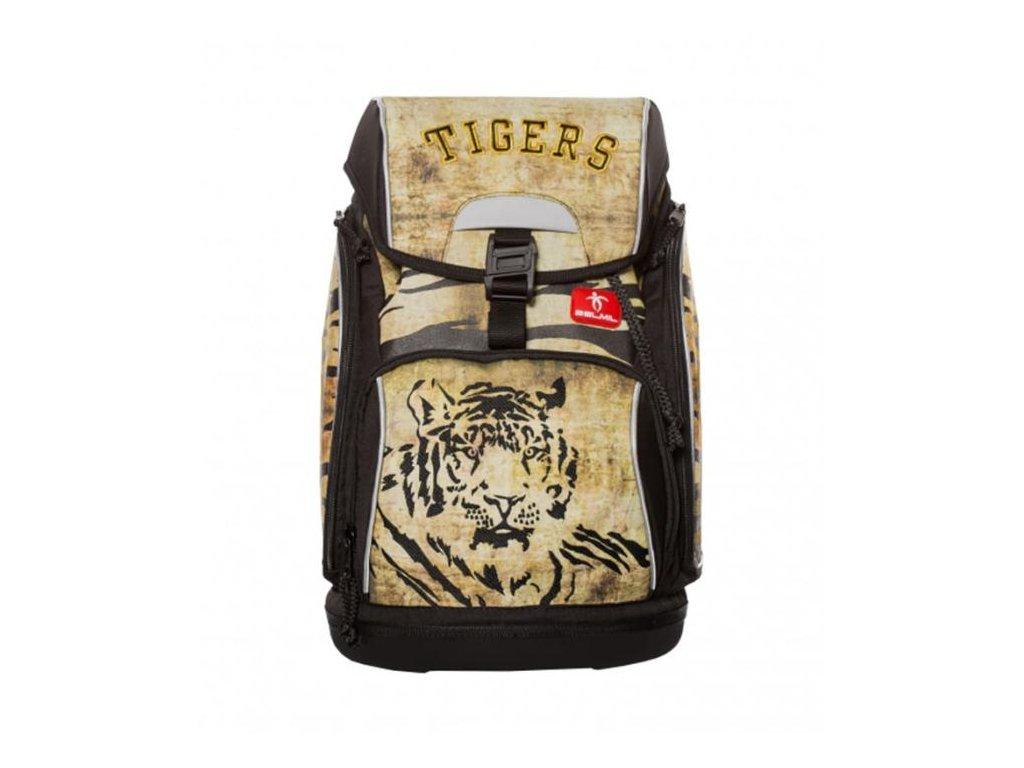 9972 1 skolni batoh wild tigers sacek na prezuvky