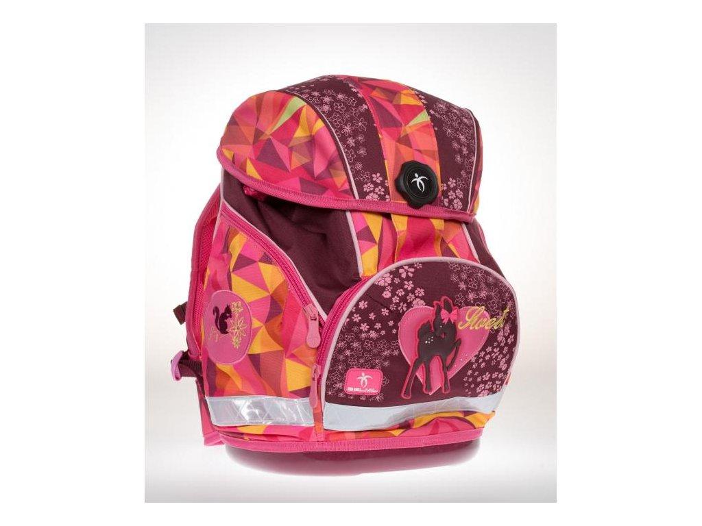 9981 2 skolni batoh sweet dream sacek na prezuvky