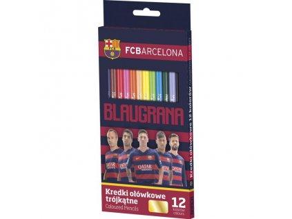 10050 astra pastelky fc barcelona 12 barev