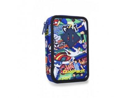 10935 skolni penal coolpack jumper 2 football cartoon