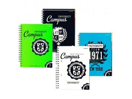 11232 blok spiralovy b5 160l university ctv