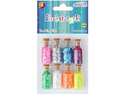 dekoracni brokat v lahvicce vanocni tvoreni pastelove barvy zet shop servis diy napady