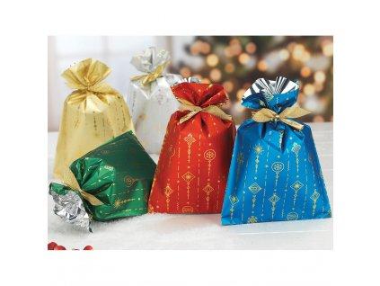 Vánoční dárkové sáčky Decori 16 x 25 cm