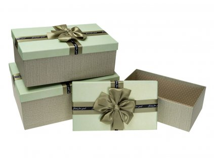 darkove krabice s masli zelene 3ks