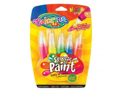 5956 1 colorino neonove barvy 5 barev