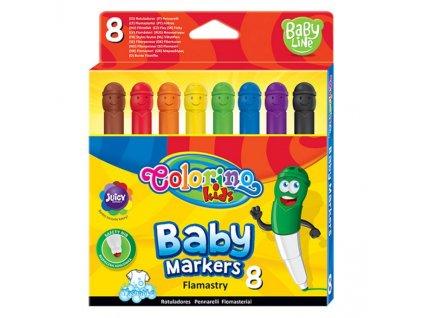 6139 1 colorino fixy baby line 8 barev