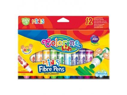 6202 1 colorino fixy baby line minis 12 barev