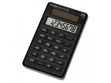 637 1 kapesni kalkulacka citizen eko ecc 110