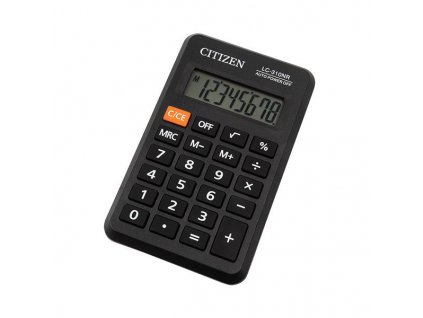 652 1 kapesni kalkulacka citizen lc 310nr