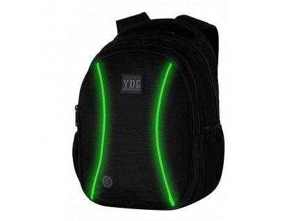 6748 studentsky batoh coolpack joy led green