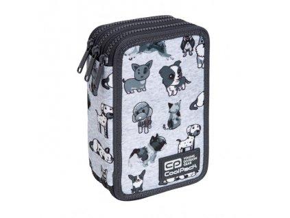 6823 4 skolni penal coolpack jumper 3 doggies