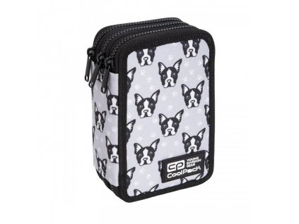 6826 4 skolni penal coolpack jumper 3 french bulldogs