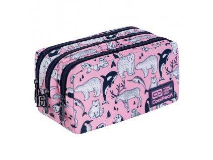 6838 1 skolni pouzdro coolpack primus pink ocean