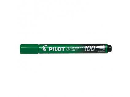 8443 permanentni popisovac pilot 100 zeleny