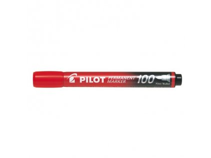 8449 permanentni popisovac pilot 100 cerveny