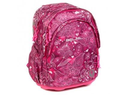 9996 2 skolni batoh joyful sacek na prezuvky