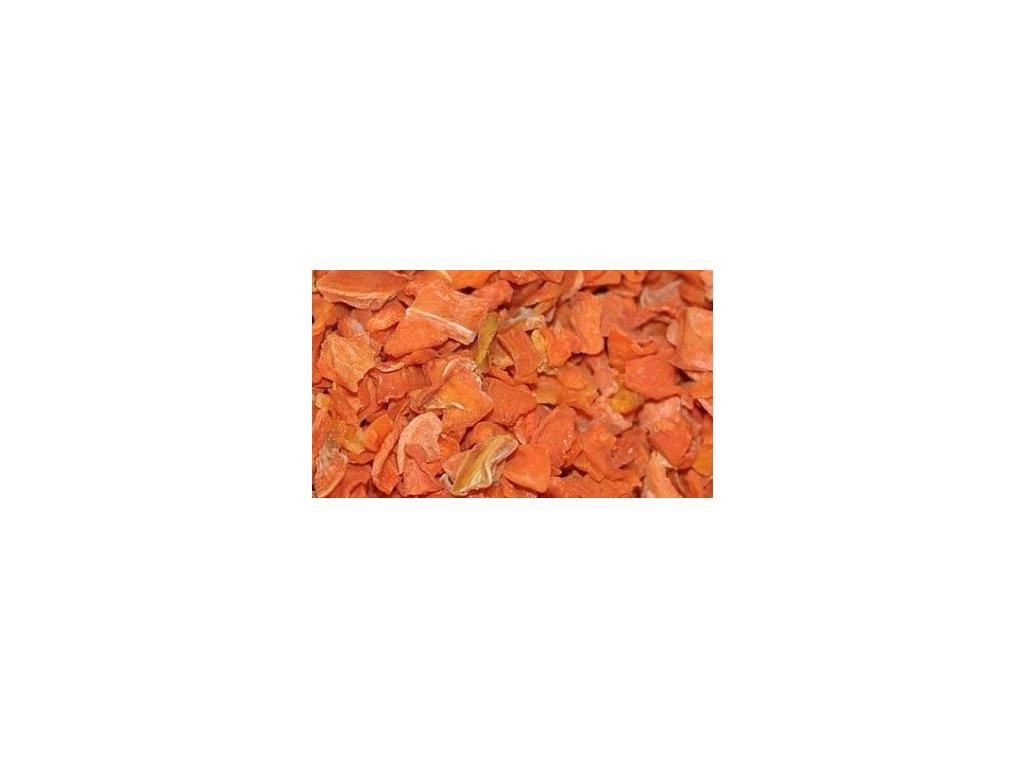 Sušená mrkva - kocka