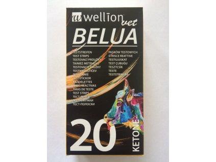 KETONOVÉ TESTOVACIE PRÚŽKY WELLIONVET BELUA 20 KS