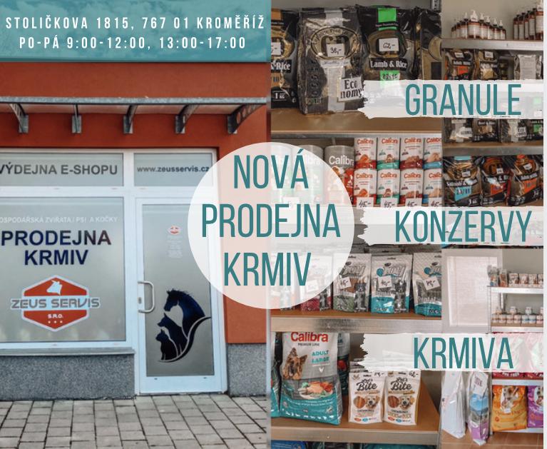 Nová prodejna v Kroměříží